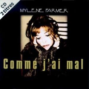 CD Single Comme j'ai mal