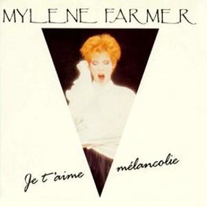 CD Single 45T Je t'aime mélancolie