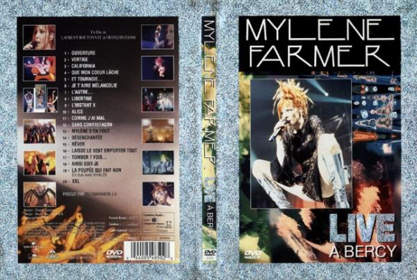 DVD Live à Bercy 1996