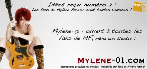 Portail communautaire Mylene Farmer - Mylene-01.com