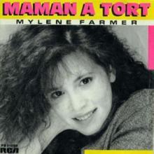 CD Single 45T Maman a Tort